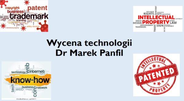 wycena technologii dr Marek Panfil know how prezentacja